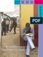 Gender and Education for All - The Leap to Equality, 2003/4 Report