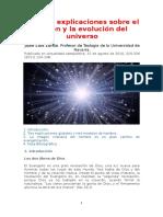 Las Tres Explicaciones Sobre El Origen y La Evolución Del Universo