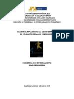 Cuadernillo Secundaria 2013olimpiadamatematicas