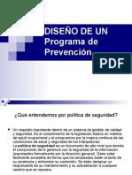 Diseño de Un Programa Prevencion