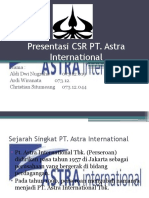 Presentasi PT. Astra International