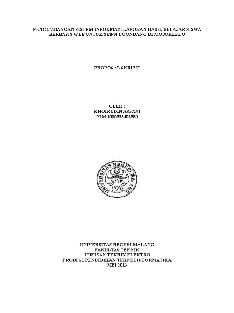 01 Cover Proposal Skripsi Um 2010