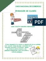 Sara Noguera Planeador de Clases
