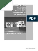 Prevencion y Tratamiento de Las Adicciones