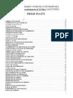 Forum Contempora PRIMI