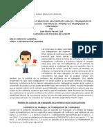 Cómo Es Un Contrato de Trabajo Para Un Trabajador de Confianza - Modelo de Contrato de Trabajo de Trabajador de Confianza