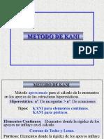 Metodo de Kani