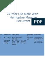 24 years old male with hemoptoe massive recurrent.pptx