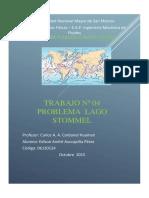 Diferencias Finitas - Solucion Stommel
