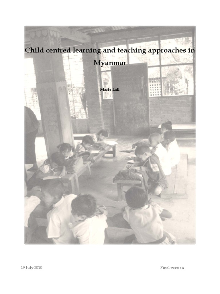 child centred approach to learning