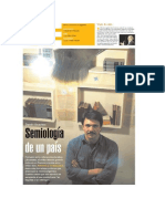 Silvina Friera, Reportaje a Dardo Scavino