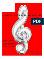 Comics as Music Notation