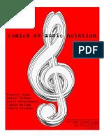 Comics as Music Notation