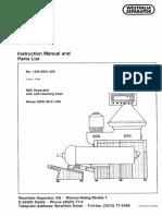 1) Instruction Manual [Msd 90-01-076]