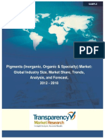 Sample_Pigments Market (Inorganic Organic Specialty)Global Scenario Trends Industry Analysis Size Share