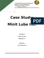 minit lube case study FINAL.docx