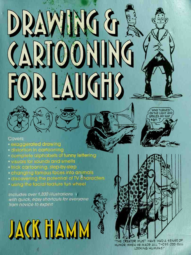 Drawing_-_Cartooning_for_Laughs.pdf | Comic Strips | Cartoon