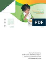 nutricion y niños