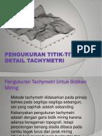 Bab Xii Pengukuran Titik-titik Detail Tachymetri