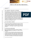 White Paper on Reducing Risk in Oil and Gas Operations