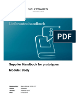 5 - Supplier Handbook for Prototypes - Body