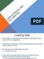 Data Retrieval and GUI