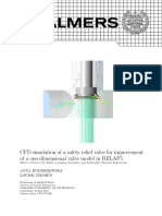 CFD Simulation of a Safety Relief Valve