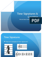 Time Signatures and Counting