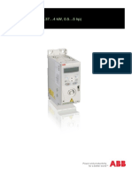 ABB Drives ACS150 User Manual