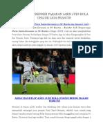 Prediksi PSG vs SC Bastia 9 Januari 2016