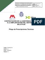 TM.pliego de Prescripciones Técnicas. Asistencia Técnica