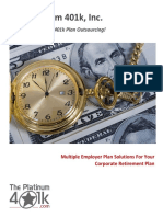 Multiple Employer Plan Solutions for Your Corporate Retirement Plan