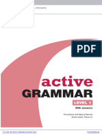 Active Grammar Level1 Elementary Book With Answers and CD Rom Frontmatter