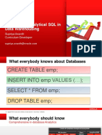 Analytical SQL