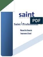 Manual de Impresora Fiscal Saint 5