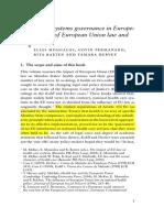 Chapter 1 on EU Health Policies