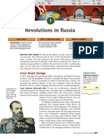 russian revolution background and information