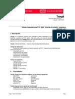 Adhesivo Pvc Ficha TECNICA