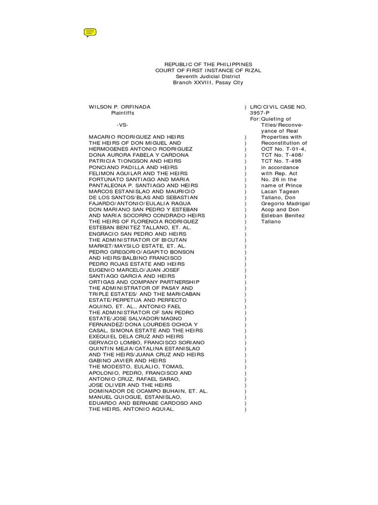 Tallano+Case+in+Philippines.pdf | Crime & Justice | Justice