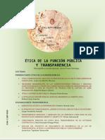 Ética de la Función Pública y Transparencia