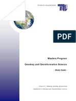 Studyguide to Geodesy Berlin