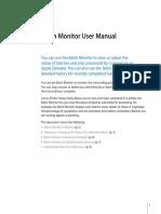 Batch Monitor User Manual