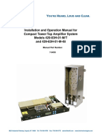 Installation and Operation Manual for Compact Tower-Top Amplifier System Models 429-83H-01-M/T and 429-83H-01-M-48