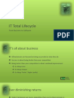 EIM Intro - IT Total Lifecycle