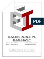 isometric engineering consultancy profile 2016