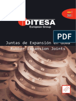 juntas de expansion Ditesa