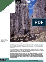 Geology of Australian Alps