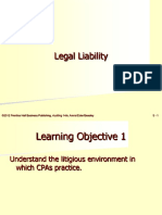 Audit Legal Liabilities