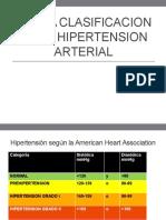 Nueva Clasificacion de La Hipertension Arterial