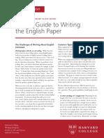 Bg Writing English